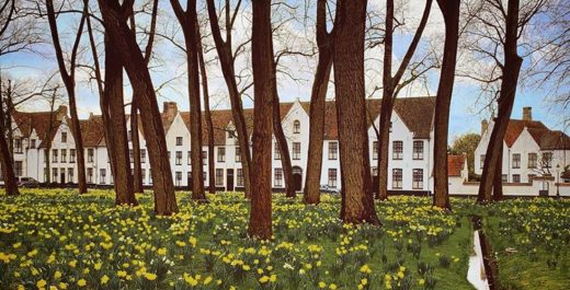 Béguinage de Bruges, Belgium, World Heritage, The Nun's Story, Audrey Hepburn