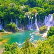 Kravice Waterfall(Vodopad Kravica), Bosnia and Herzegovina