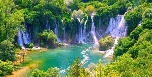 Kravice Waterfall(Vodopad Kravica), Bosnia and Herzegovina