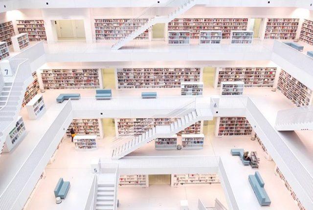 Public Library Stuttgart, Germany