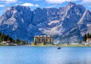 Lago di Misurina, Dolomiti, Veneto, Italy