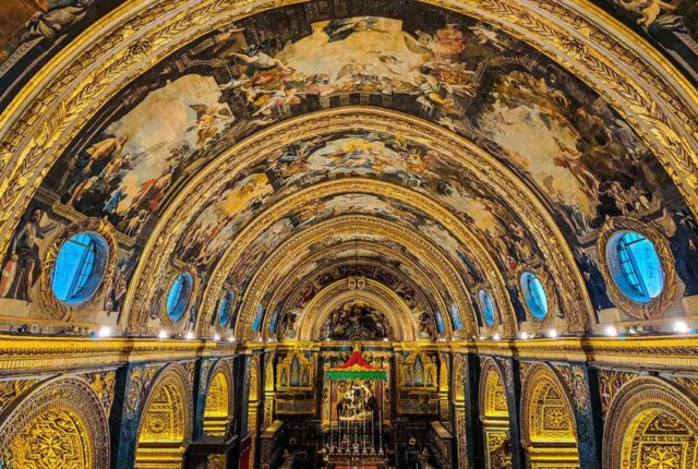 St. John's Co-Cathedral, Valletta, Malta, World Heritage