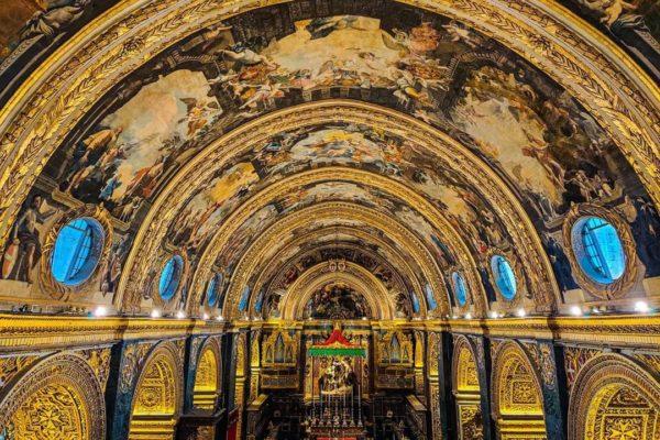 St. John's Co-Cathedral, Valletta, Malta, World Heritage