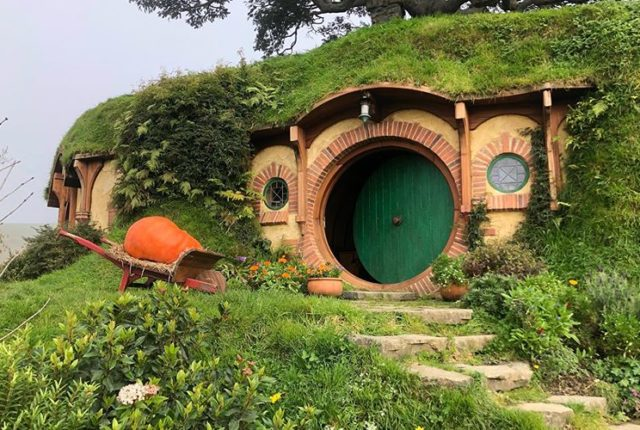 Hobbiton Movie Set, Hinuera, New Zealand, The Lord of the Rings
