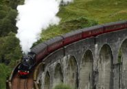 Glenfinnan Viaduct, Scotland, United Kingdom, Harry Potter