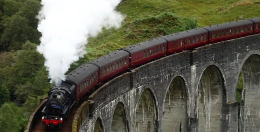 Glenfinnan Viaduct, Scotland, United Kingdom, Harry Potter