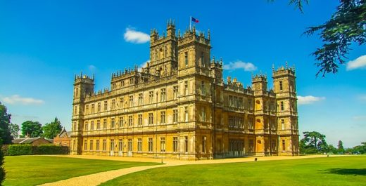 Highclere Castle, Newbury, Berkshire, England, Country House, Downton Abbey