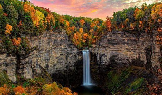 Taughannock Falls State Park, Trumansburg, New York, United States