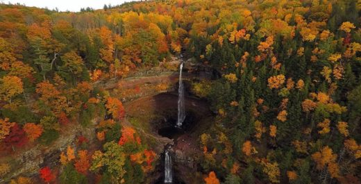 Kaaterskill Falls, Catskill Mountains, New York, United States