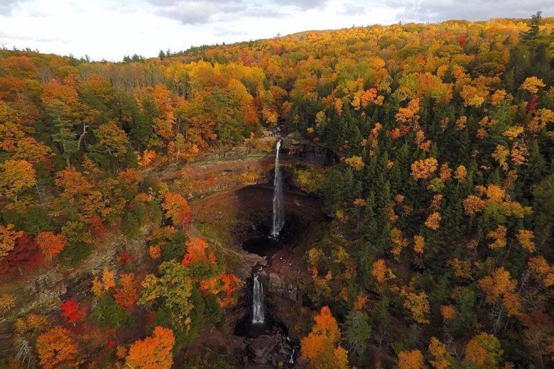 Kaaterskill Falls, Catskill Mountains, New York, United States